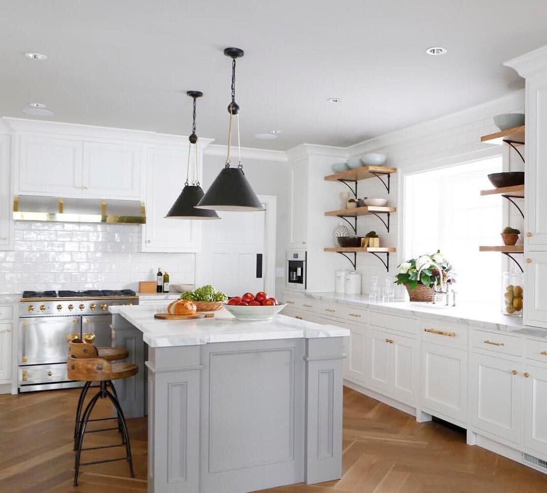 All white kitchens have been a goto for elegance for