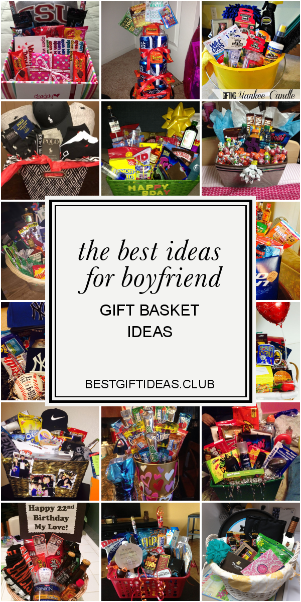 The Best Ideas for Boyfriend Gift Basket Ideas #boyfriendgiftbasket