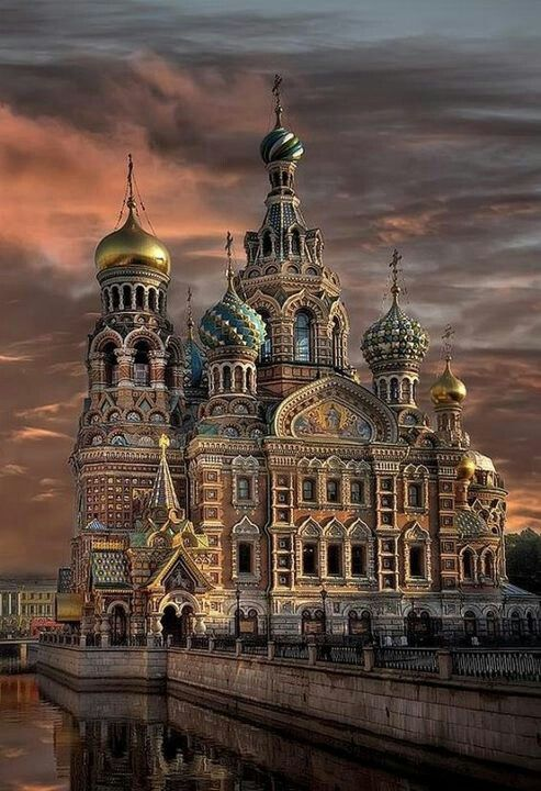 Russian Architecture Is So Elegant With The Spheres On Top Of Building And Amazing Colors