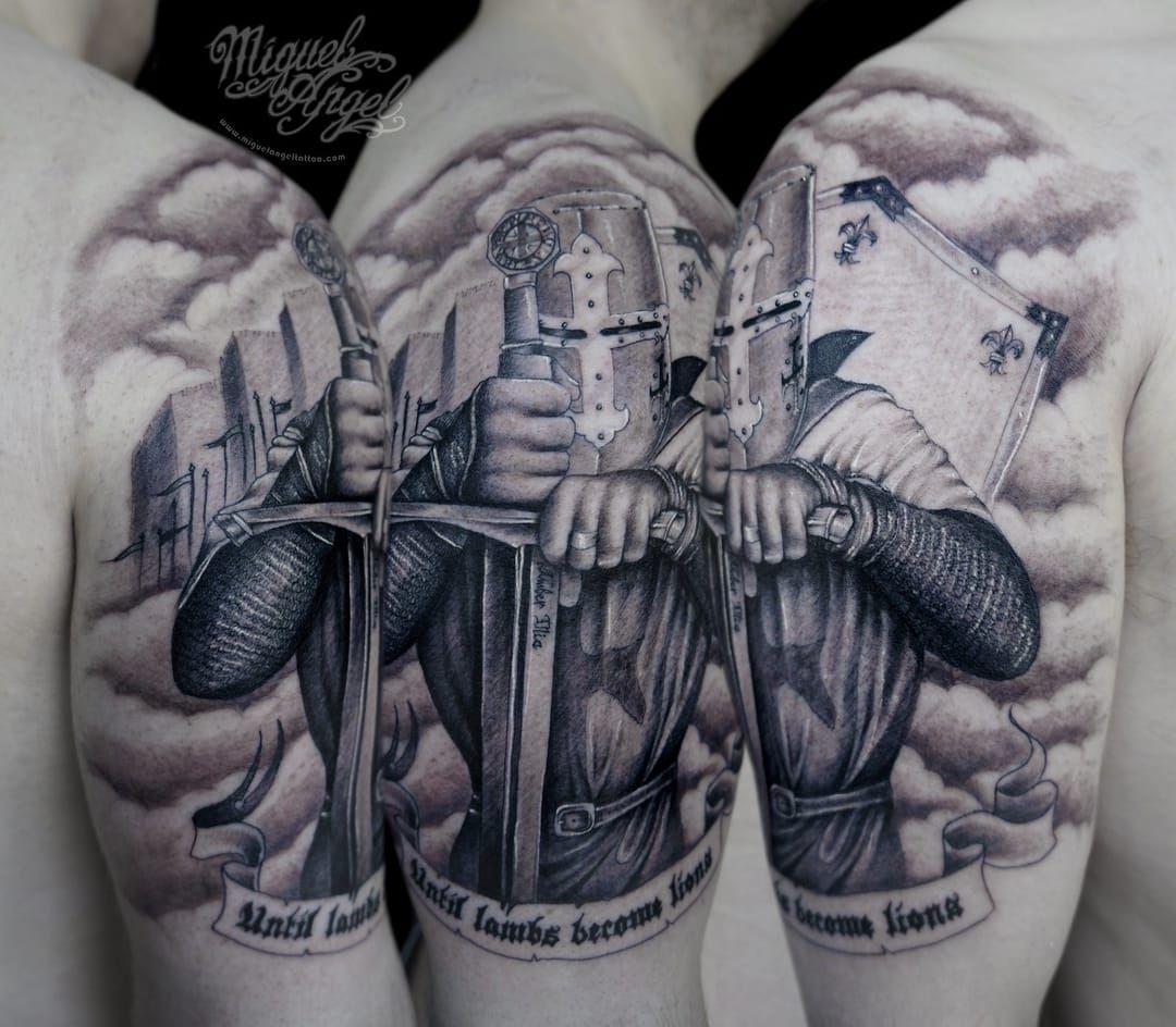 Columbus Custom Tattoo Designs: Nápady Na Tetování, Tetování A Rytíři