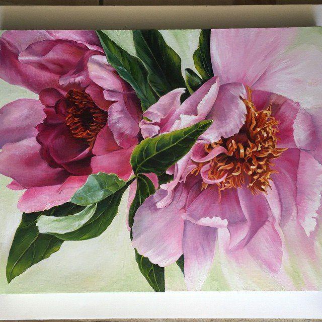 Floral 1 By Marjie Z My Romantic Self In 2019 Watercolor