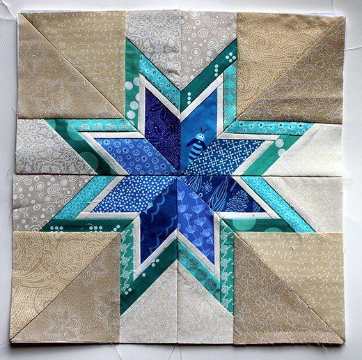 Quilting Land Lone Starburst Paper Piecing Quilt Art Pinterest