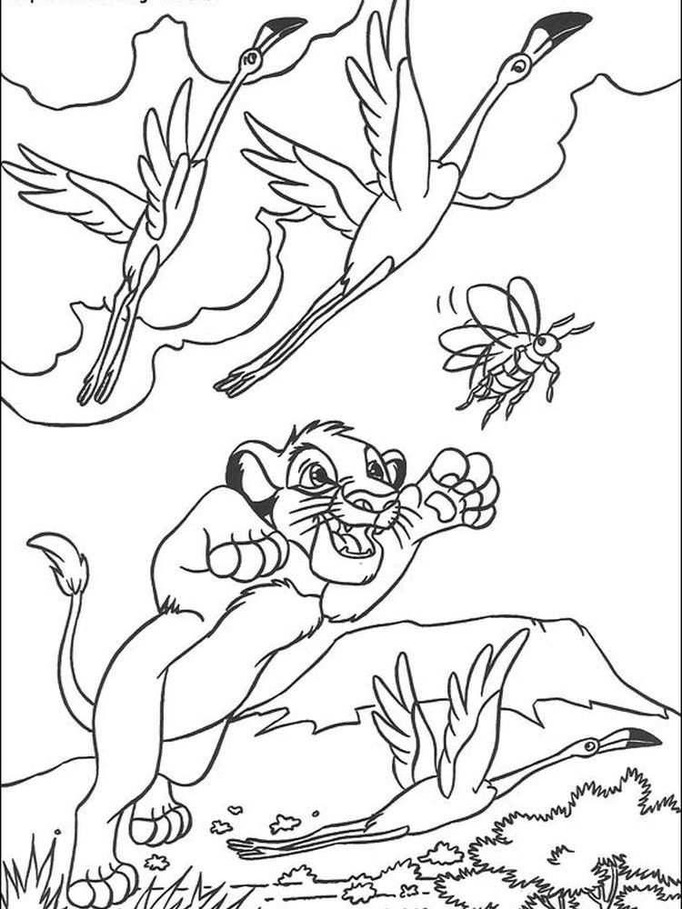 Lion King Coloring Page Lion Coloring Pages Disney Coloring Pages Animal Coloring Pages
