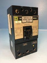 Square D Kal36250 250a Circuit Breaker 600v Type Kal S2 3 Pole Kal 36250 250 Amp Em1597 2 Breaker Panel Breakers Circuit