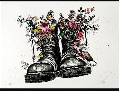 ac4b2d21b6 Prefab 77 Stand For Something Dr Martens Print Release | Art | Urban ...
