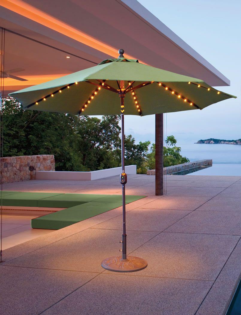 Installing Right Patio Umbrella Lights marvelous