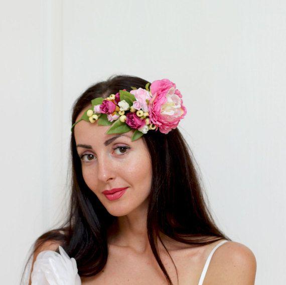 Ready to ship Bridal floral crown Flower headband от ByKochetova