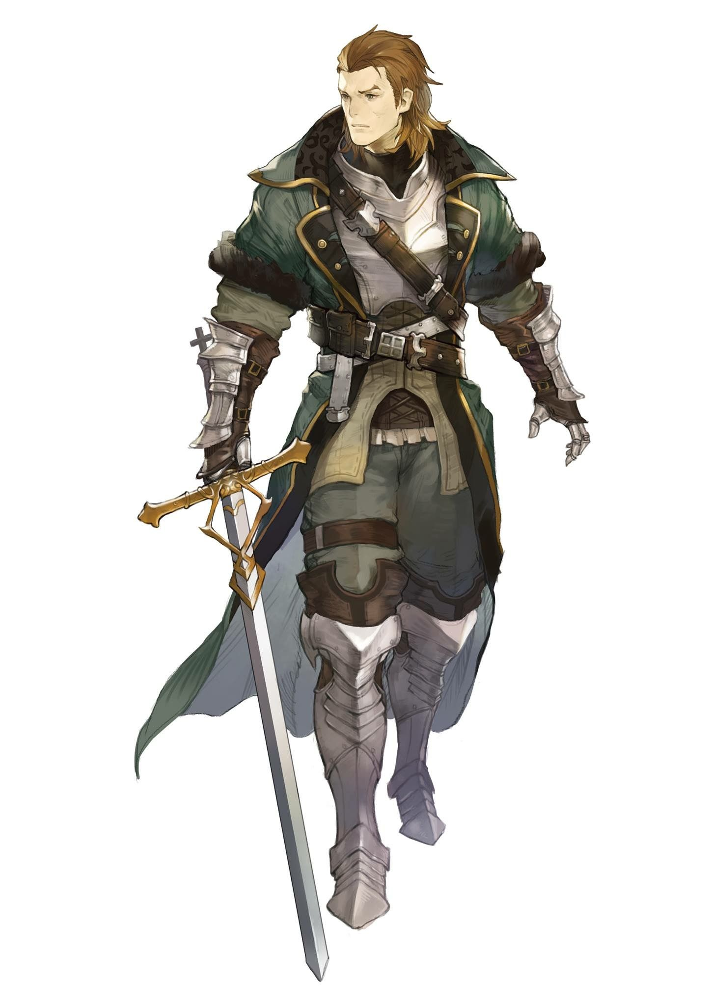 M human paladin cleric | Fantasy character design, Character design male, Dungeons and dragons ...