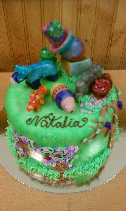 Viva pinata cake cakes i would like to make pinterest for Viva pinata garden designs