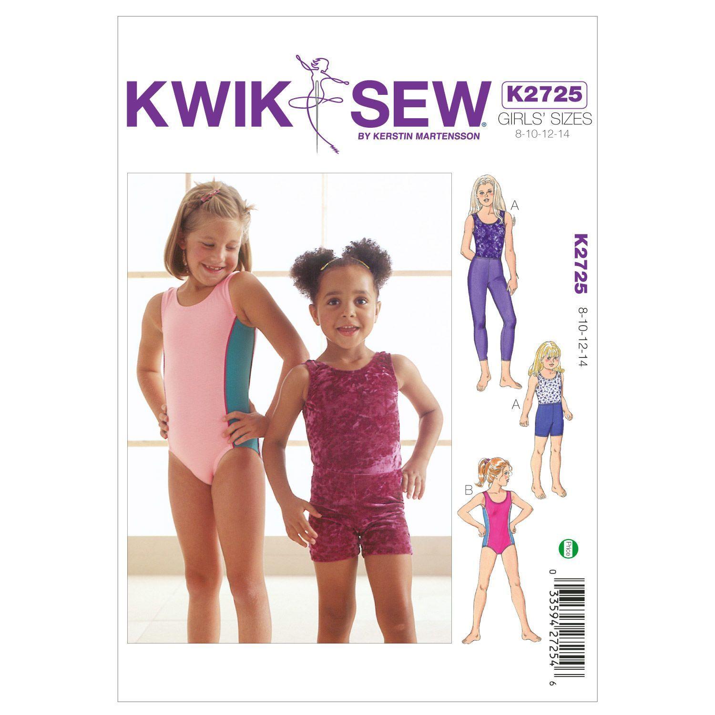 Mccall Pattern K2725 8 - 10 - 12 - 14 - Kwik Sew Pattern