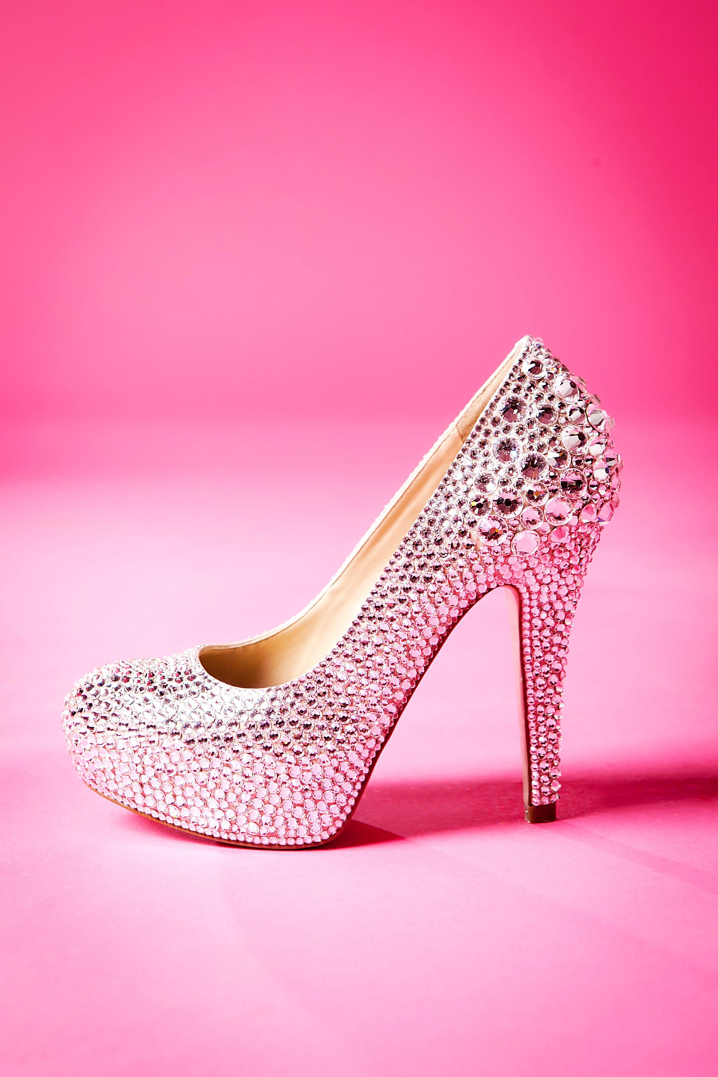 Wedding high heel Swarovski Rhinestone shoe by Crystal ...