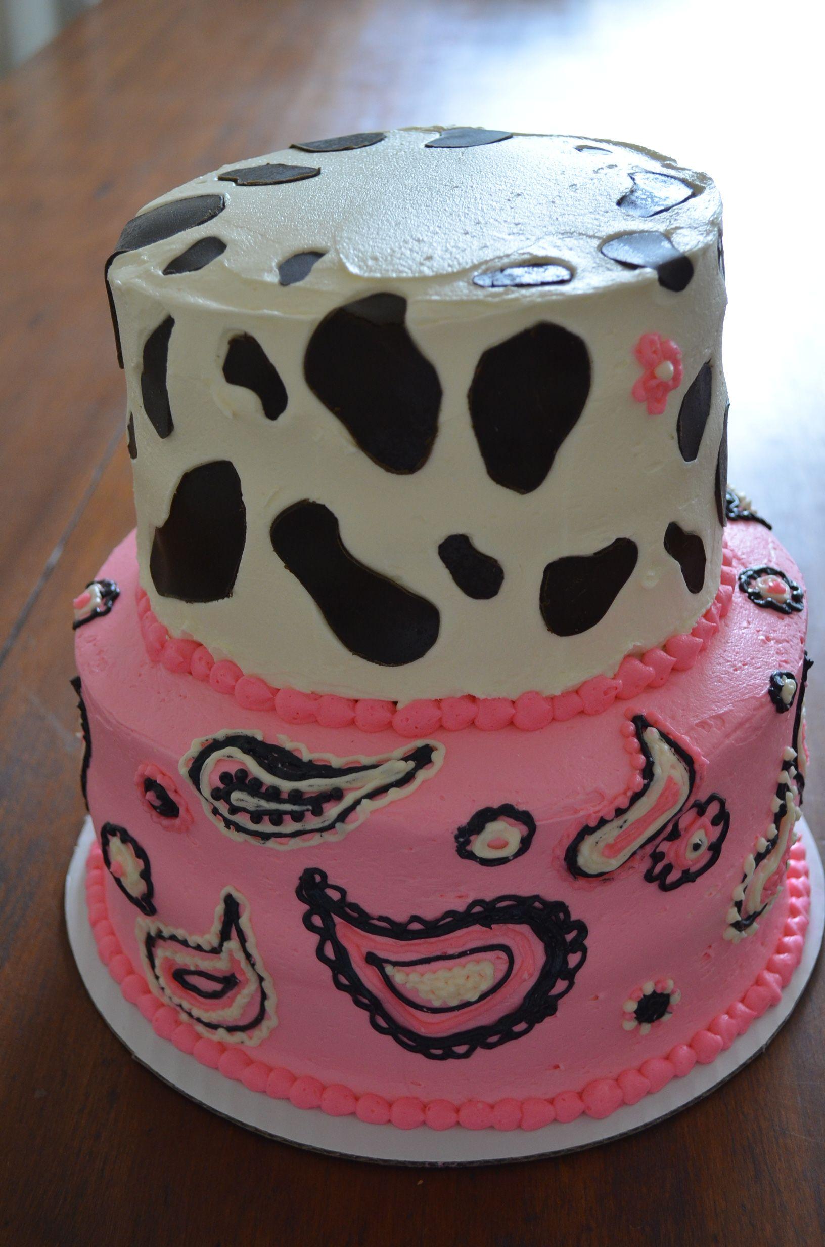 Cow Print Cake Thecakeshopmenu Cow Print Pinterest Cow Print