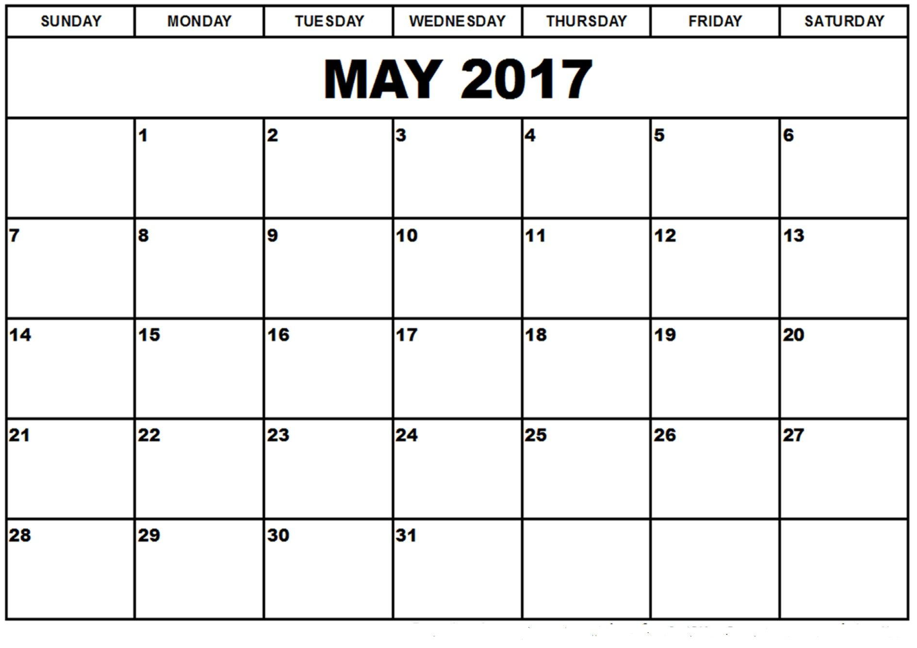 Calendar Planner For May : May printable calendar