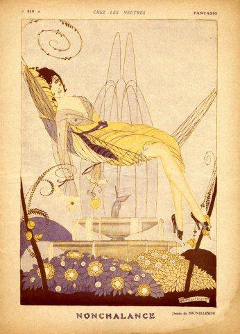 Umberto Brunelleschi (1879 - 1949). Fantasio, 1917. [Pinned 6-iv-2015]