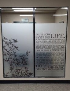 20130920 110233 Clinic In 2019 Window Graphics