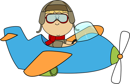 cute airplane boy flying an airplane clip art boy flying an rh pinterest com