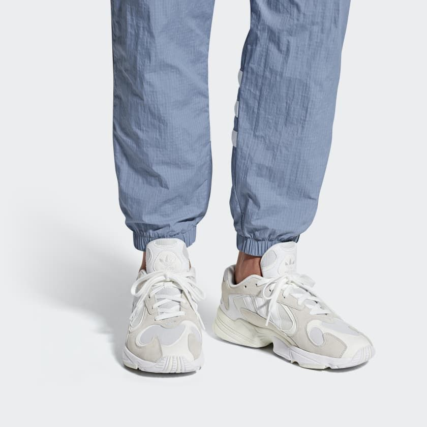 Yung 1 Shoes | White adidas, Adidas white shoes, Dad shoes
