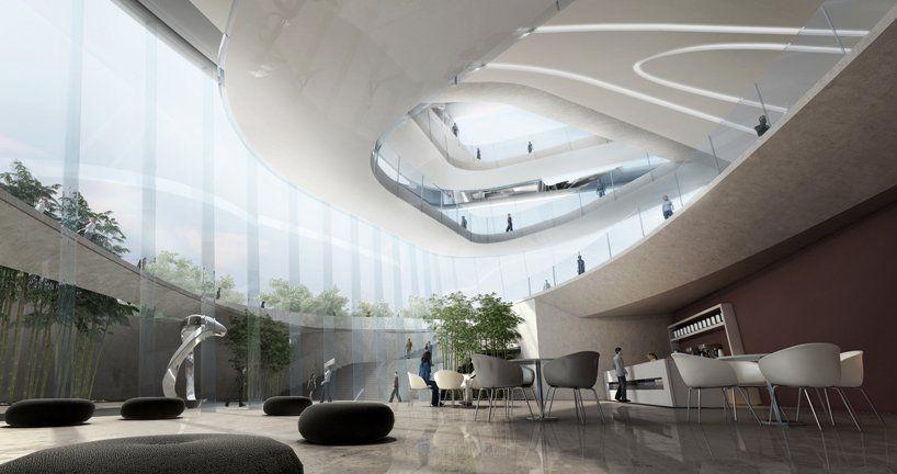 Dalian Museum Compeion Design Concept 10 10design