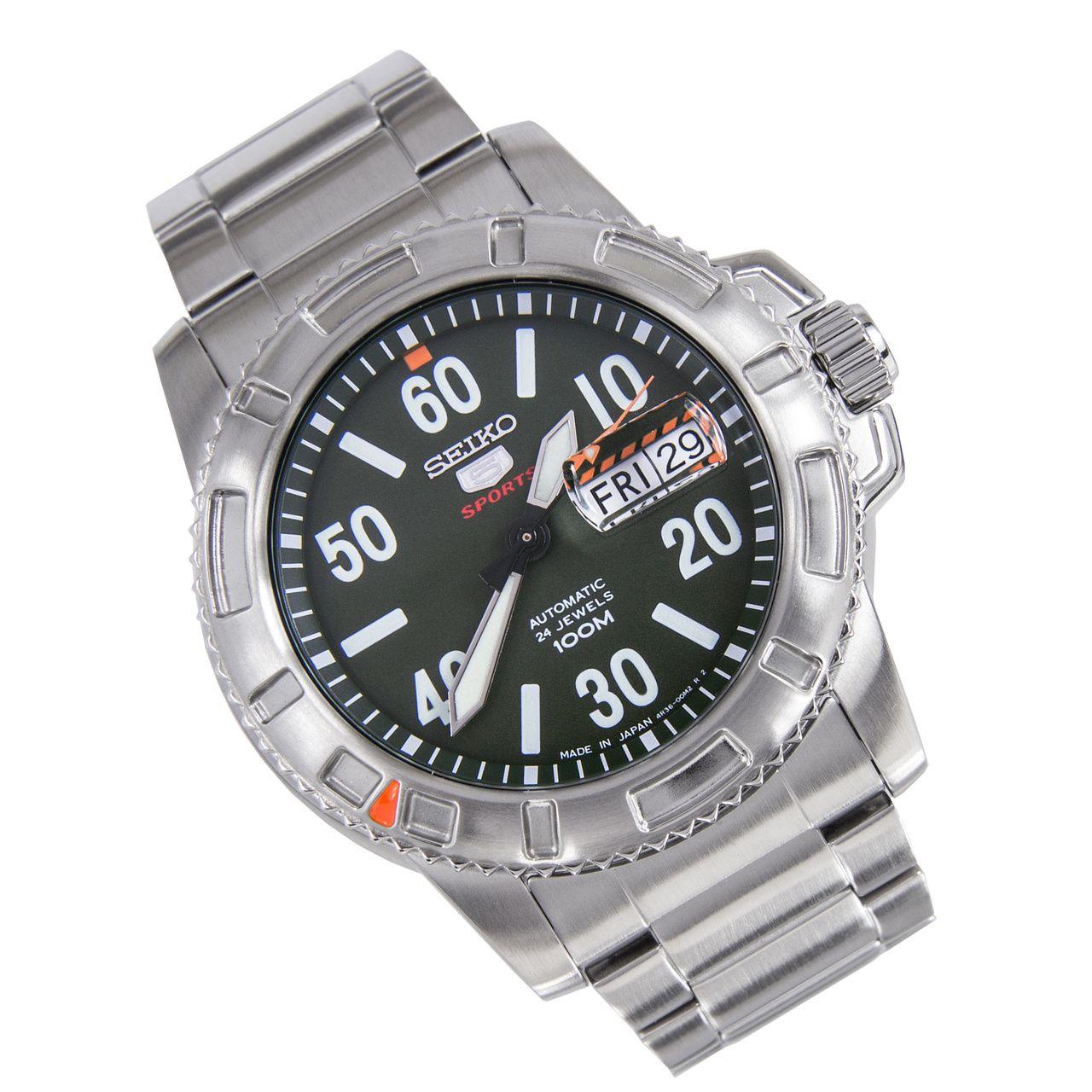 Seiko 5 Sports Automatic Watch SRP215J1 SRP215J SRP215