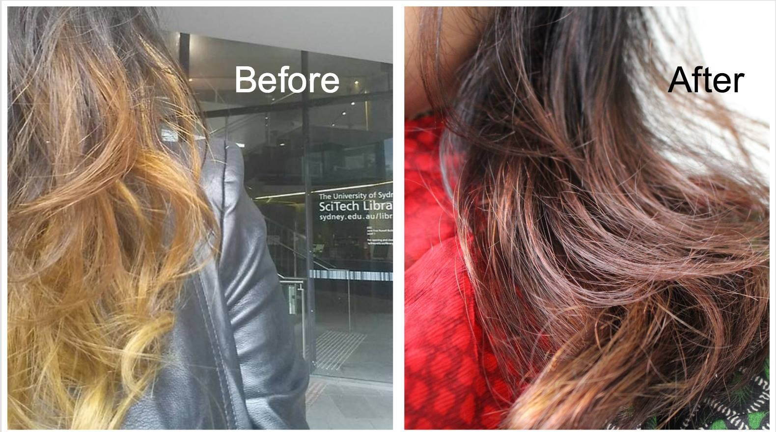 Loreal Casting Creme Hair Colour In Shade 535 Chocolate Before And After Loreal Hair Color Hair Color Loreal Hair