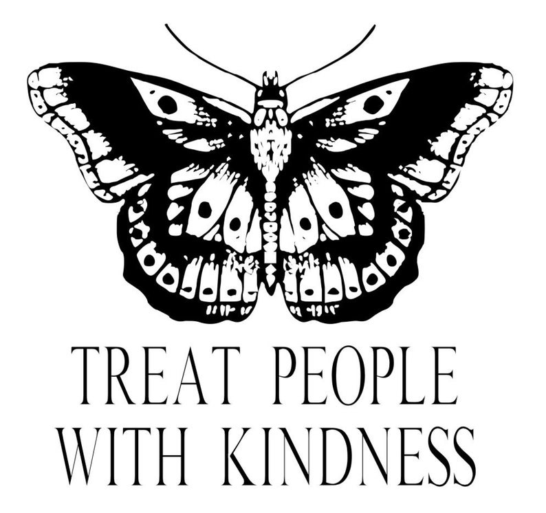 Harry Styles Treat People With Kindness Vinyl Decal Treat People With Kindness Harry Styles Treat People