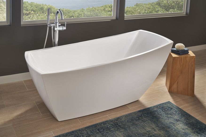 free standing jetted soaking tub. Jacuzzi Stella Soaker Tub Makes A Freestanding Statement  JLC Online Tubs Bath