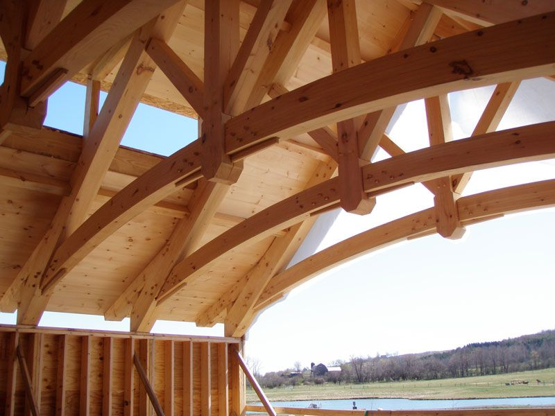 Timber Frame Truss Google Search Timber Structure