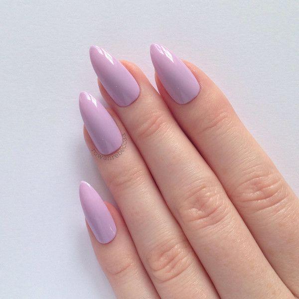 Urban Stiletto Nail Art: Lilac Stiletto Nails, Nail Designs, Nail Art, Nails