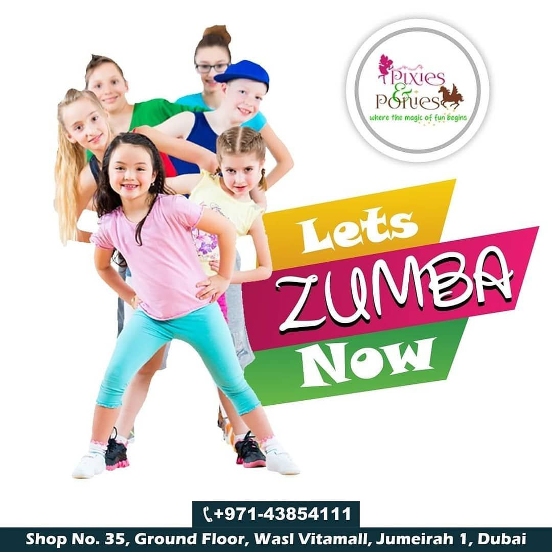Apply Now For Zumba Classes Call Now: +971-4385-4111  Don't let your kids sit at home Make your Kids...
