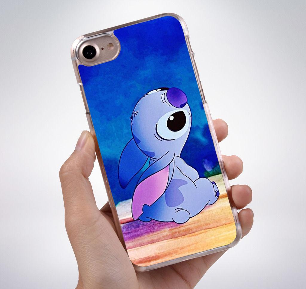 Cute lilo stitch rubber phone case cover fits iphone tr