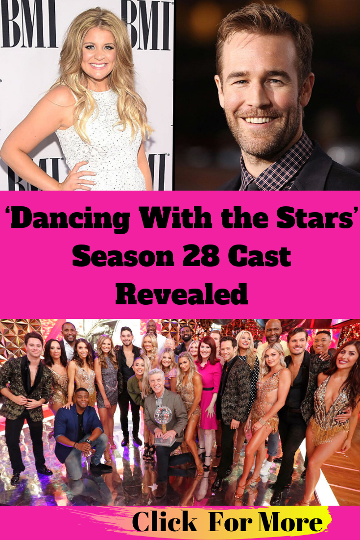 'Dancing With the Stars' Season 28 Cast Revealed #dancingwiththestars