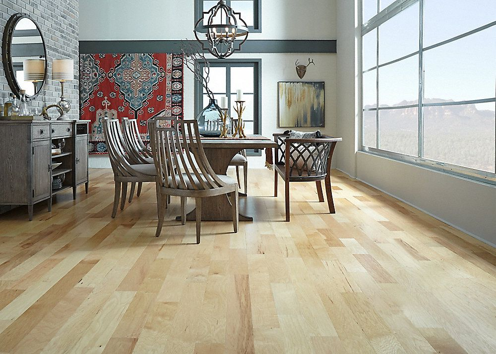 Mayflower Engineered Natural Hickory Flooring, 3/8 x 5, 2