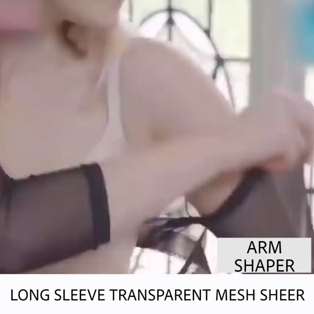 Photo of 50% RABATT AUF FASHION WOMEN LONG SLEEVE TRANSPARENT MESH SHEER