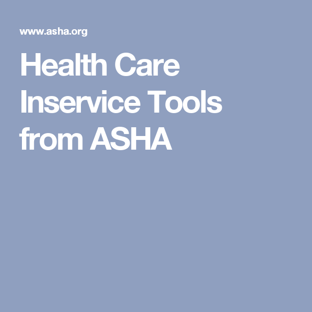 picture relating to Free Printable Inservices for Home Health Aides named Conditioning Treatment Inservice Applications versus ASHA SNF Speech Cure