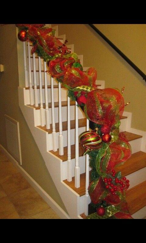 Escalera Decorada Navidad Escalera Decorada Christmas