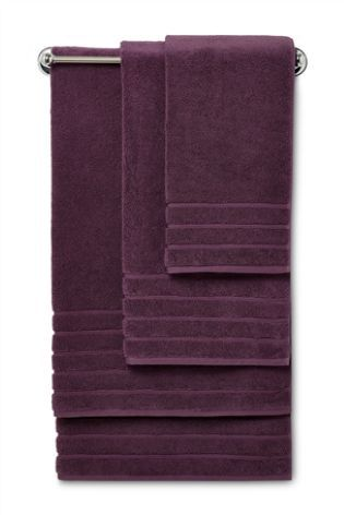 Plum 700gsm Supreme Zero Twist Towels