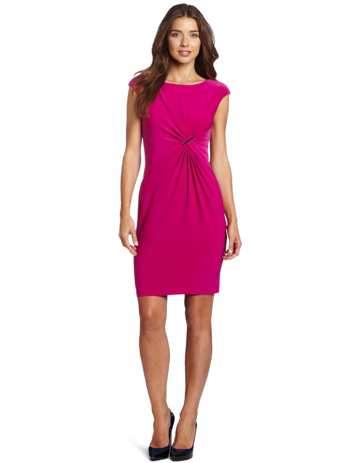 Simple and cute! Anne Klein Women\'s Enamel Brooch Dress | Fashion ...