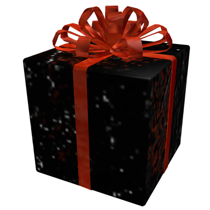 Opened Black Iron Gift of Pwnage, a Hat by ROBLOX - ROBLOX