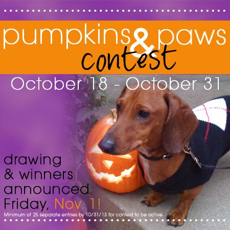 It's our 2013 Pumpkins & Paws Contest!  We're giving away 2 $50 Hurst gift cards, and 1 $25 one! To WIN, all you need to do is upload an image of your carved or decorated pumpkin creations, OR a picture of your furry or feathered friends in costume to our Facebook wall for our Pumpkins & Paws Contest! Entries will be drawn November 1!  Go to our FACEBOOK PAGE TO ENTER: www.facebook.com/HurstFineDiamonds
