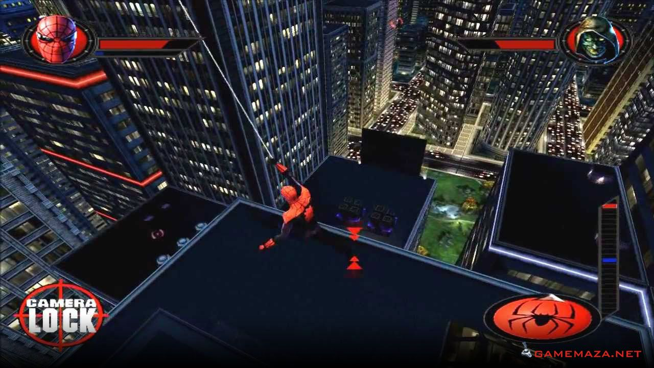 Ultimate Spider Man Gameplay Screenshot 2 Spiderman
