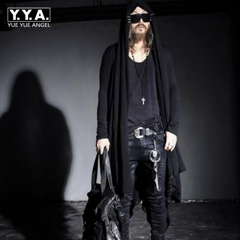 >> Click to Buy << Spring New Avant-garde Boys Men's Punk Gothic Long Cloak Causal Loose Nightclub Cosplay Trench Coats Free Sizes #Affiliate