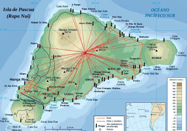 Resultado de imagen de isla de pascua