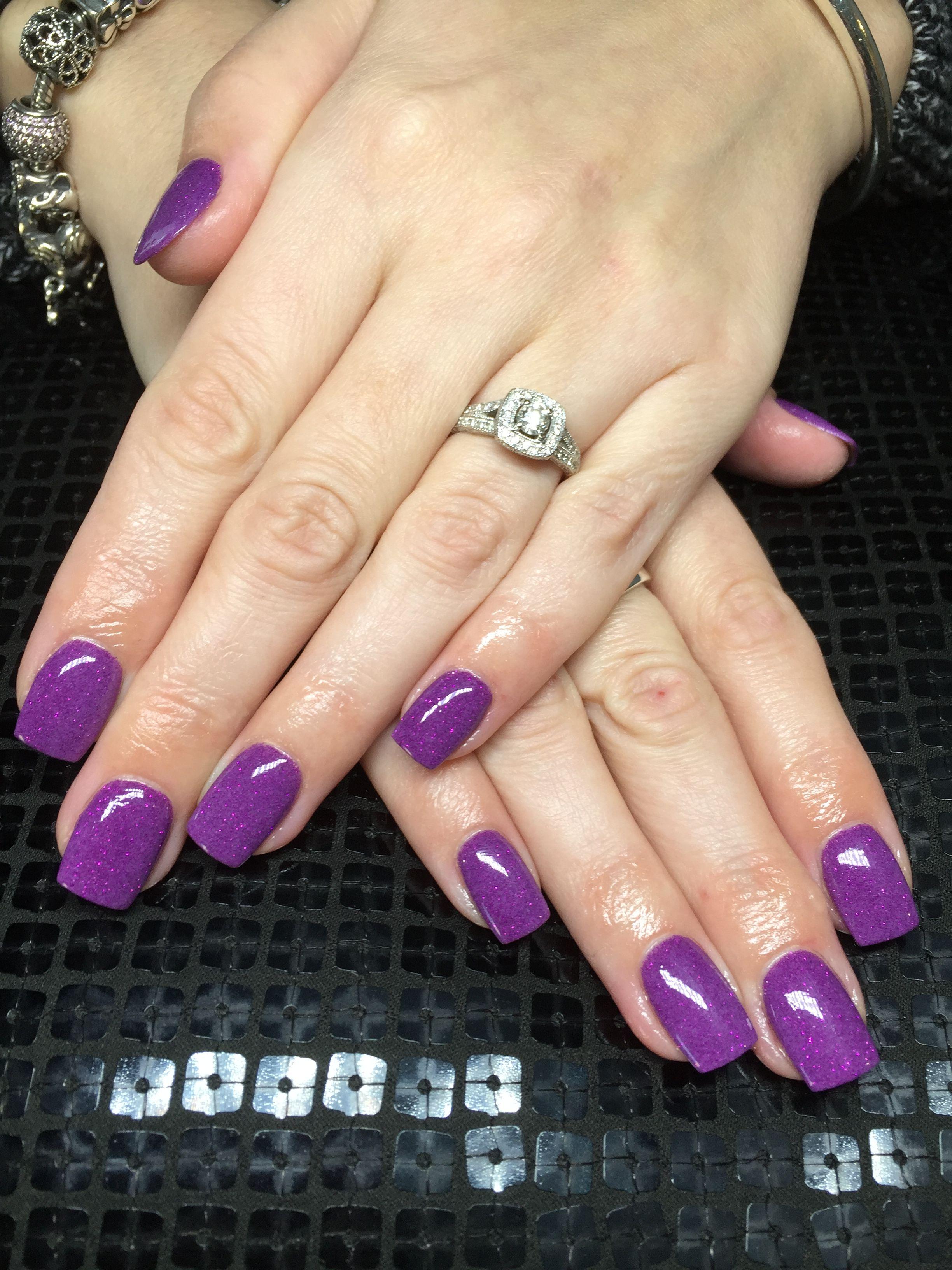 Sns nails purple | SNS Nails | Pinterest