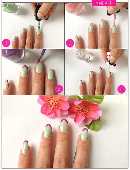 Diseños uñas sencillas   Nail Art   Pinterest   Uñas sencillas ...