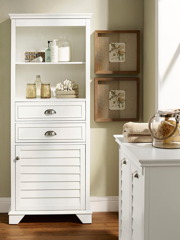 Tall Storage Cabinet -   17 diy Bathroom cupboard ideas