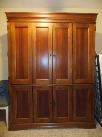 Hooker Furniture desk armoire for 200 Naples SWFL Craigslist