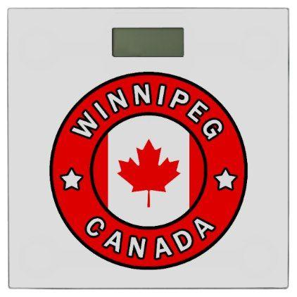 Winnipeg Canada Bathroom Scale | Zazzle.com | Toronto ...