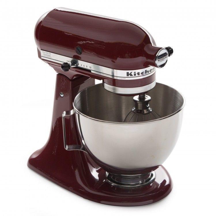 Electric stand mixer 10 speeds 45 quart flat beater dough