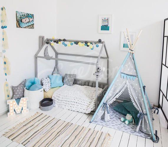 Bett-Haus ist eine erstaunliche Kinderzimmer-Bett zum schlafen und ...