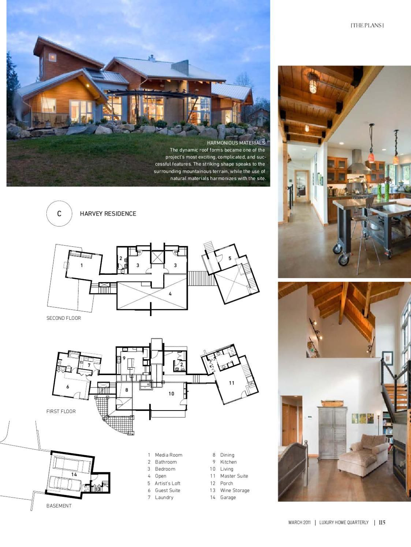 Luxury Home Quarterly Issue 7 Clippedonissuu Luxury Homes Desert Homes Home